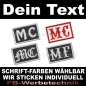 Preview: MC Patch Biker Aufnäher Patches 6x4 AS